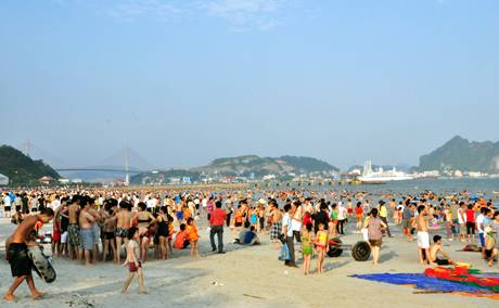 Biển Bãi Cháy Quảng Ninh, Bien Bai Chay